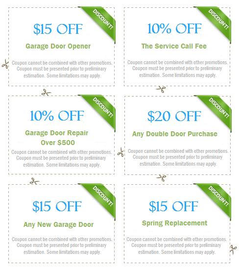 Garage Door Repair Coupons Costa Mesa